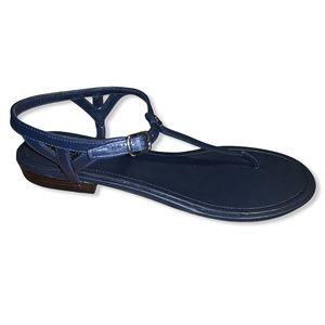 New Ralph Lauren Ollie Flat Leather Sandals